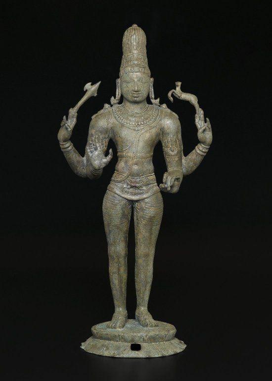 Shiva as Chandrashekhara - Medium: Bronze. Place Made: Southern India, Tamil Nadu, India. Dates: ca. 970 C.E. Dynasty: Chola dynasty.