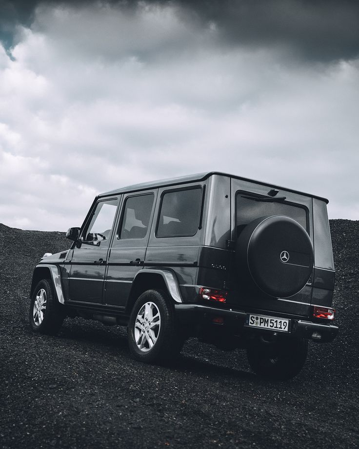 All black everything with the G-Class. Photo by Stefan Leitner (www.stefanleitner.com) for #MBsocialcar [Mercedes-AMG G 500   Fuel consumption combined: 12.3 l/100km   combined CO₂ emissions: 289 g/km   http://mb4.me/efficiency_statement]