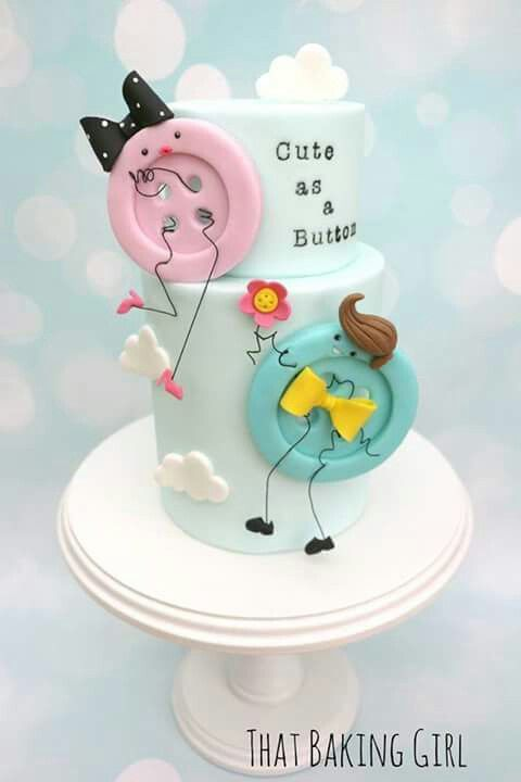 Baby shower cake or Birthday .