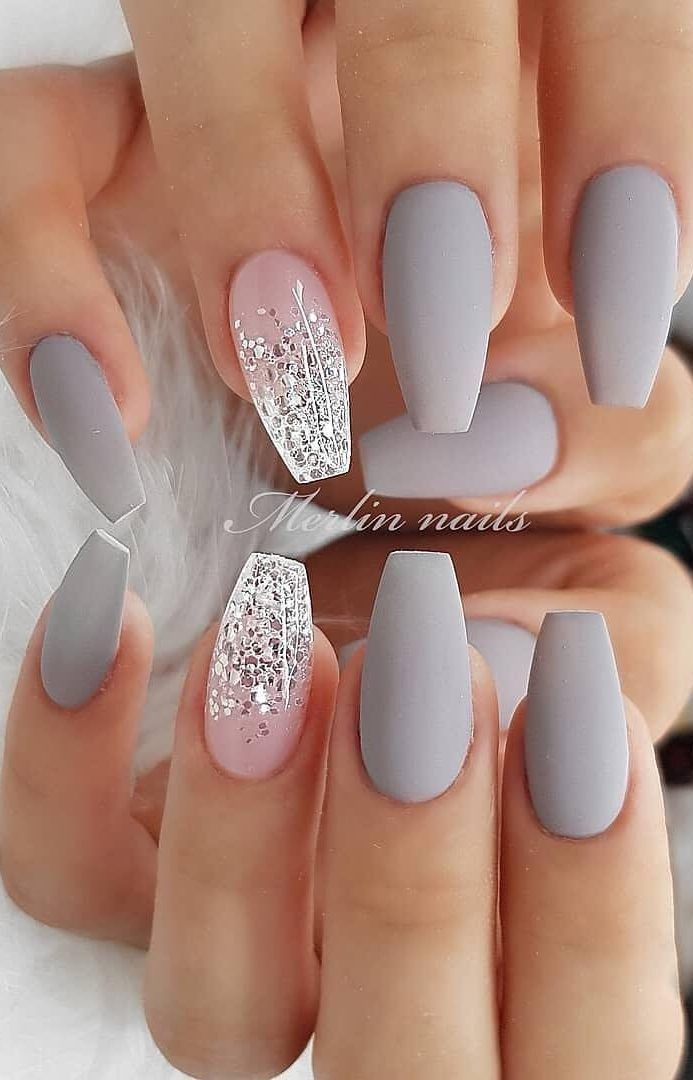 39 Hottest Awesome Summer Nail Design Ideas For 2019 Page 20 Of 39 Daily Women Blog In 2020 Matte Nails Design Short Acrylic Nails Cute Acrylic Nails