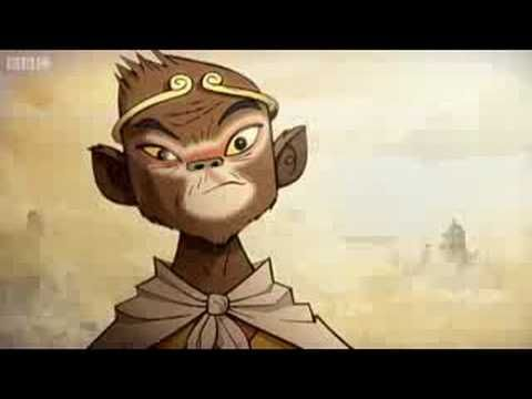 BBC Sport's marketing campaign and titles for the forthcoming Olympic Games are based upon the traditional Chinese folklore 'Journey to the West'. The animation and music were specially produced by Jamie Hewlett and Damon Albarn. (BBC, 2008)