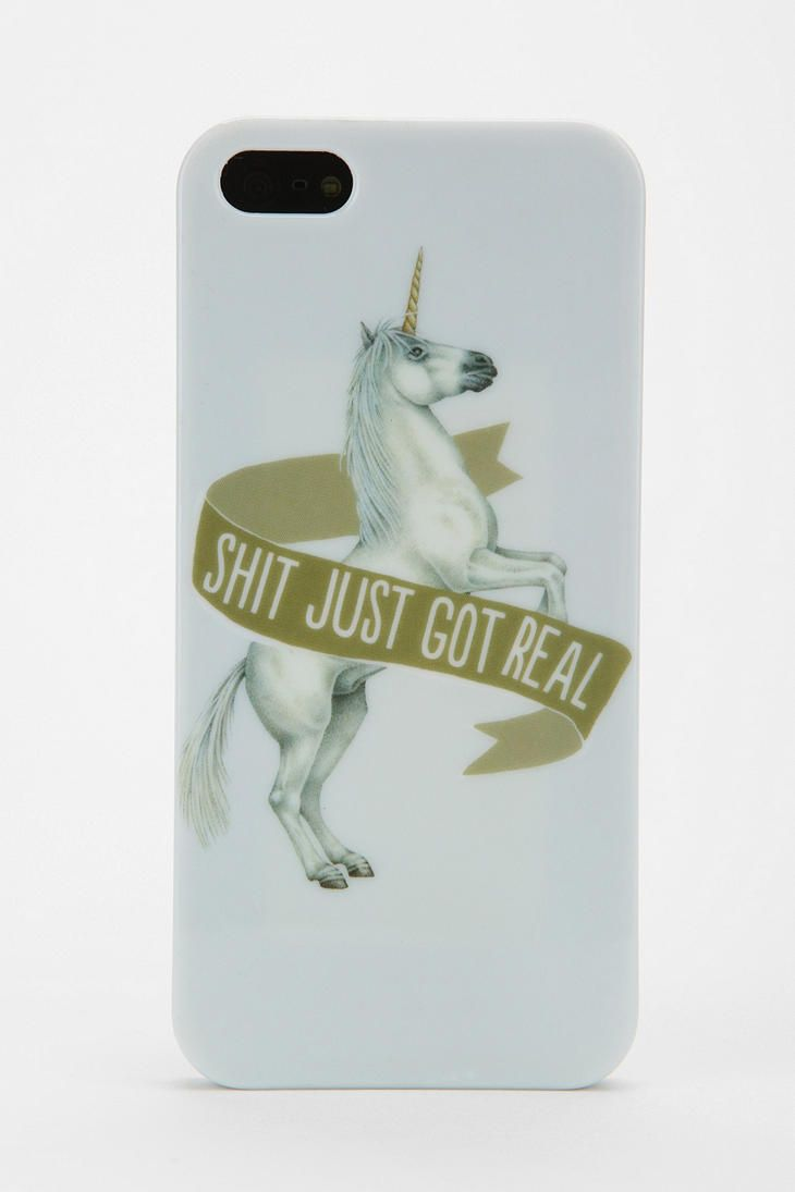 UO S**t Just Got Real iPhone 5 Case