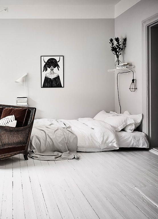 8 Dreamy minimal bedrooms you willl love on a breezy spring (Daily Dream Decor)