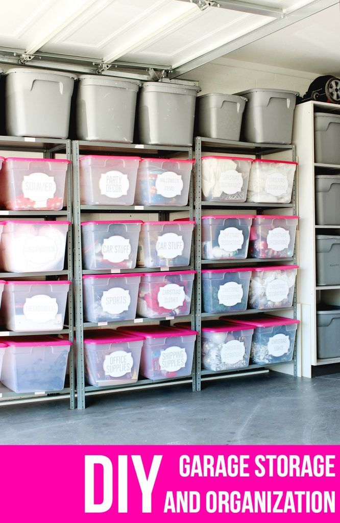 This post is sponsored by Silhouette America. All ideas and opinions are my own. HOORAY! Today we're talking organization; one of my favorite topics! I recently tackled my garage for all of the odds a
