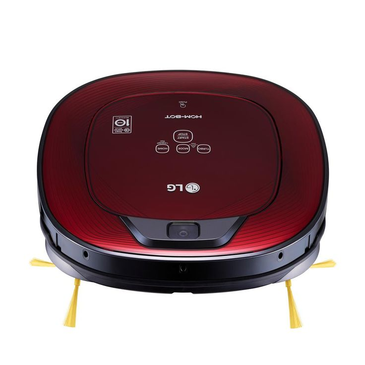 LG Electronics Hom-Bot Robotic Vacuum Cleaner in Ruby Red, Reds/Pinks