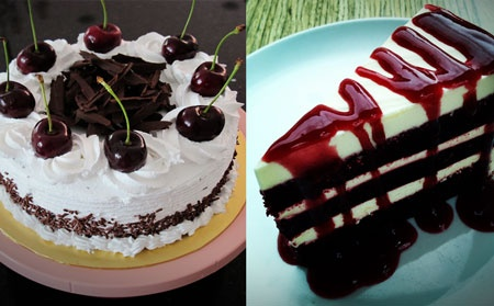 aneka kue tart coklat spesial