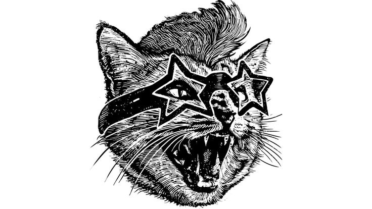 Angry cat is a T Shirt designed by barmalizer to illustrate your life and is…