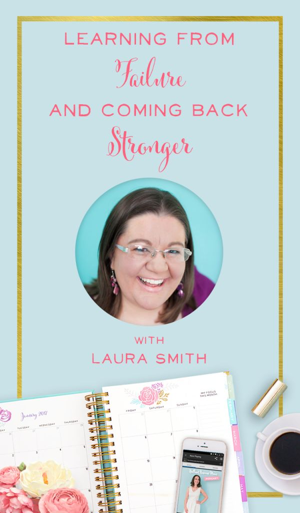 We chat with Laura Smith of I Heart Planners about her best - and worst! - year in business. We can only reach high highs if we walk through a few lows first.