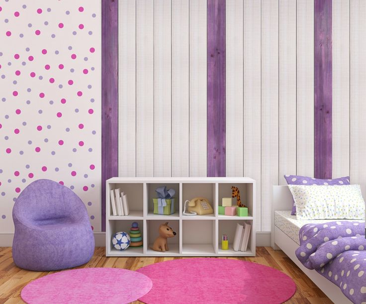 dcoration dune chambre avec le lambris bois setis et ses 2 coloris - Lambris Chambre Shabby Chic