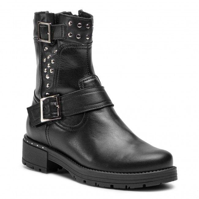 Botki Wasak 0513 Czarny Botki Kozaki I Inne Damskie Www Eobuwie Com Pl Biker Boot Boots Shoes