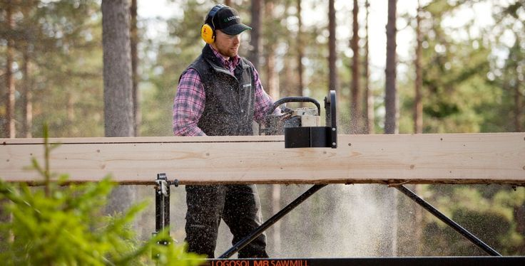 Portable sawmills, chainsaw sawmill and mobile wood mill at Logosol!