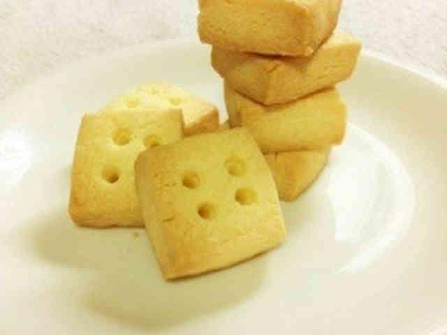 サクほろっ黄金比♪米粉100%クッキーの画像