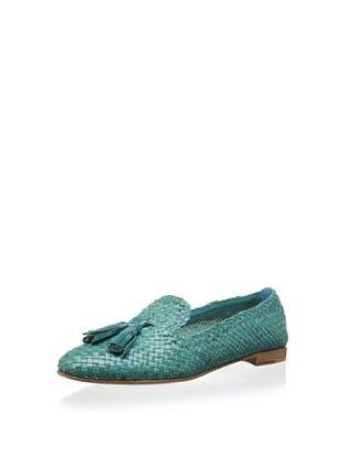 43% OFF Prada Women's Flat with Tassel (Green)
