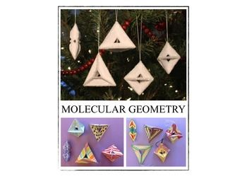 MOLECULAR GEOMETRY - ORIGAMI  If you teach chemistry or physical science, you know that many students struggle with concepts like molecular shapes, bond angles, and polarity. This is largely due to the abstract nature of the topic and the need to envision three-dimensional shapes generally conveyed two dimensionally.