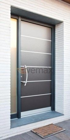 Las 25 mejores ideas sobre puertas de aluminio exterior for Puertas chalet exterior