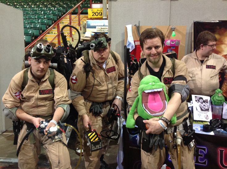 Costumes and characters at Newcastle Comic Con 2014. #Ghostbusters #NFCC #Cosplay
