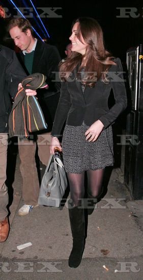 Prince William and Kate Middleton leaving the New London Theatre, London, Britain - 11 Dec 2009 Prince William and Kate Middleton 11 Dec 2009