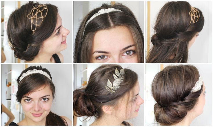 six beautiful and easy hairstyles