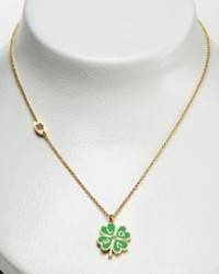 Juicy Coutures clover wish necklace