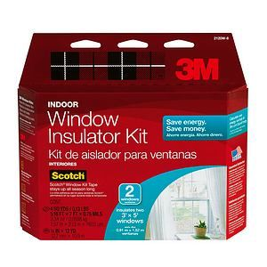New Coupon Alert—Save up to $5.00 on a 3M Window Insulator Kit!
