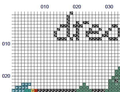Modern cross stitch pattern dream big. The pattern comes as a PDF file that youll will be able to download immediately after purchase. In addition the PDF files are available in you Etsy account, under My Account and then Purchase after payment has been cleared. You get a pattern in colorblocks and symbols, a pattern in black and white symbols, and a list of the floss colors youll need. You also get an PDF file with cross stitch instructions.   PATTERN INFORMATION  Stitches: 79 W x 62 H…