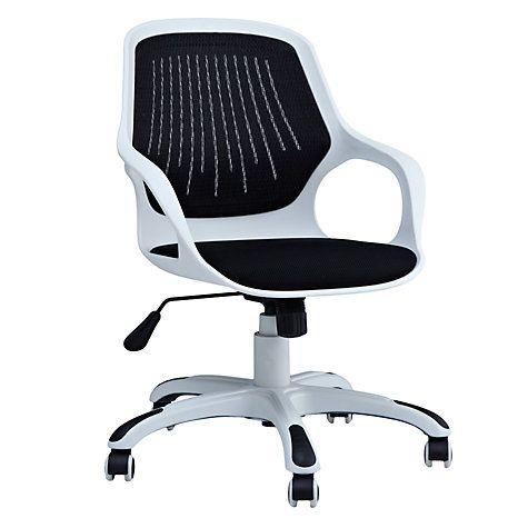Buy John Lewis Wade Office Chair, Black Online at johnlewis.com