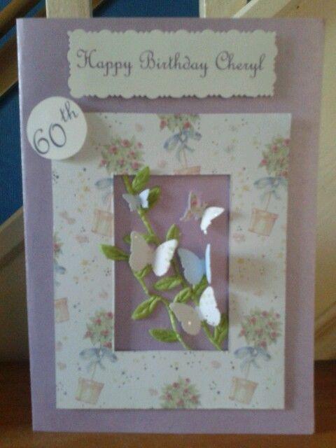 Personalized Birthday Card. £5.00 plus p&p