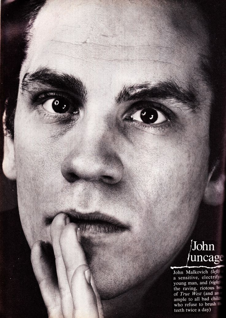 https://flic.kr/p/whsCjs | John Malkovich Vogue March 1983 | Shot by Avedon