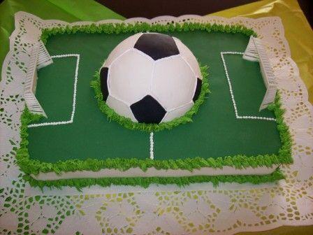 Pastel de Futbol