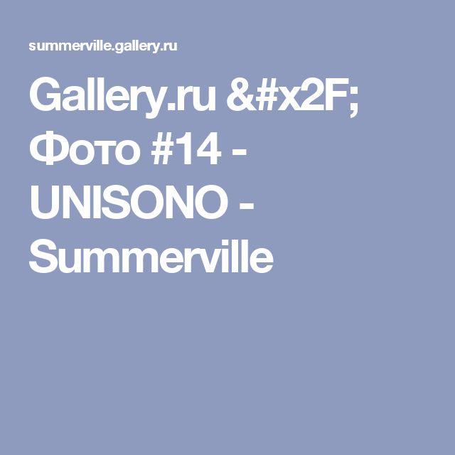 Gallery.ru / Фото #14 - UNISONO - Summerville