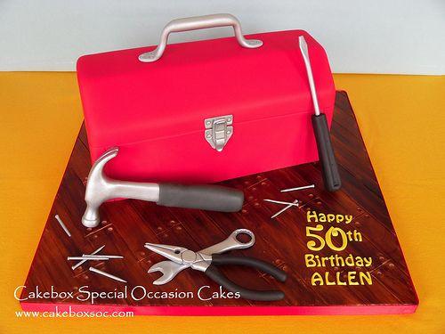 Toolbox Cake | Flickr - Photo Sharing!