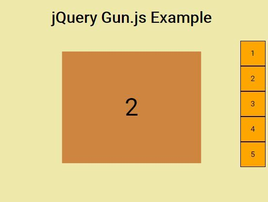 Gun.js is a #jQuery plugin used to implement the fullscreen one page scroll effect on your webpage that supports mouse wheel, keyboard navigation and touch gesture events.