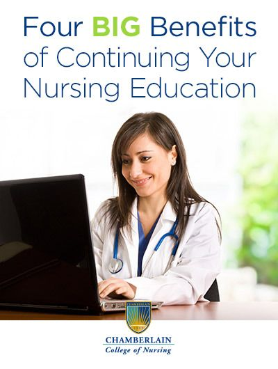 benefits of continuing education Continuing education for nurses provides a wide range of benefits to nurses and their patients alike in the paragraphs to follow, you will gain information that may help you see greater benefit in nursing ce courses.