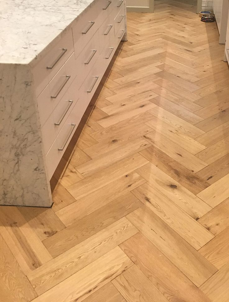 We love seeing photos of our timber installed in projects! We recently received these happy snaps of our Oak Natural herringbone from our Design from Havwoods range. Looking good!