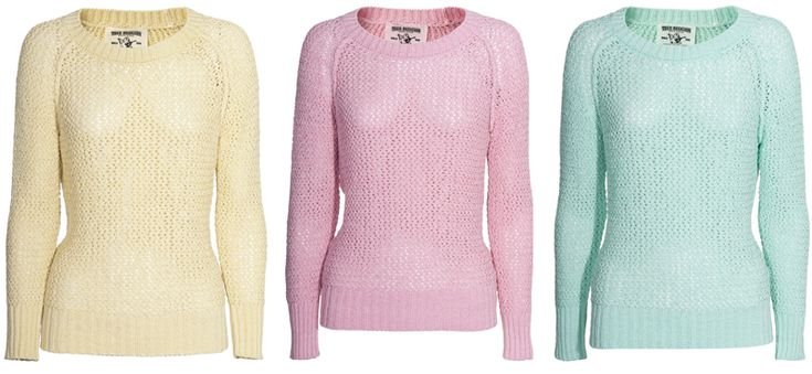 Pastel sweaters <3
