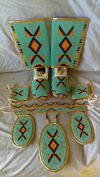 Beaded set for sale By Prairie Rose