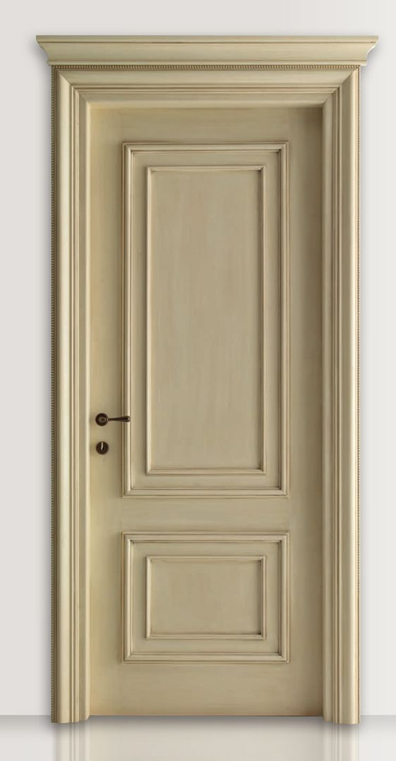PIETRALTA 1324/QQ Ochre lacquered door  Pietralta© Classic Wood Interior Doors | Italian Luxury Interior Doors | New Design Porte Lorenzo's Doors