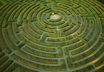 labirinto giardino