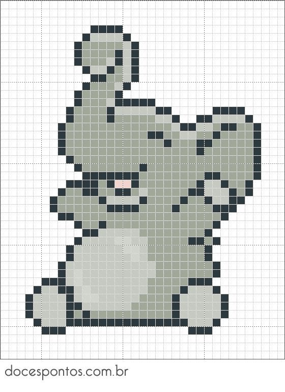 elephant perler bead pattern - Bing Images