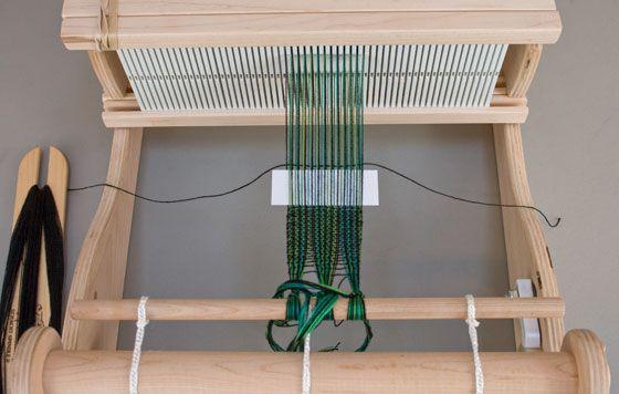 double rigid heddle weaving