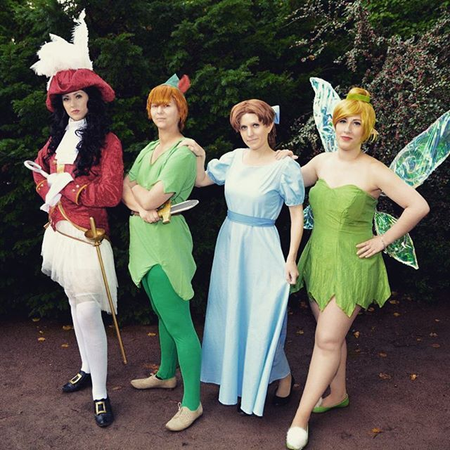 Pin for Later: 23 Group Disney Costume Ideas For Your Squad Peter Pan