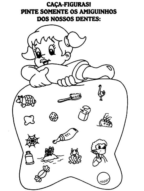 Atividades Variadas Higiene Bucal Higiene Bucal Educacao