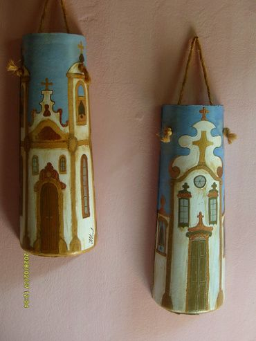 Hand Painted Decorative Roof Tiles | DELGADO'S ART
