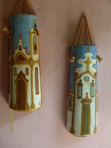 Hand Painted Decorative Roof Tiles | DELGADO'S ART