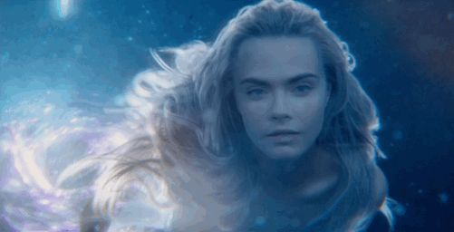 gif mermaid images | ... New Peter Pan Movie Features A Shot Of Cara Delevingne As A Mermaid