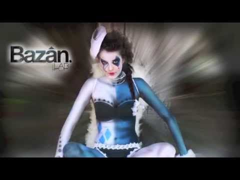 BODY PAINT CON AEROGRAFO