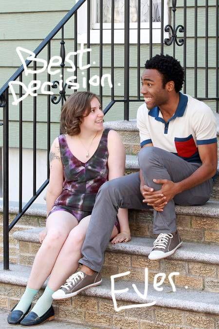 Childish gambino song about black girl not dating black guy