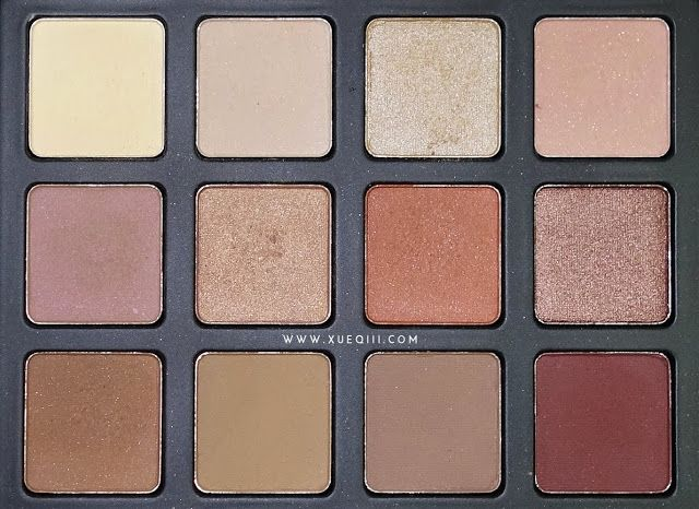 Morphe Brushes 12NB Palette | Review and Swatches