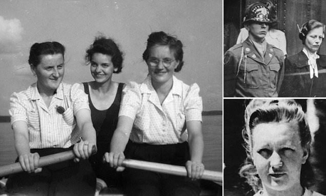 Giggling over genocide: They flirted with the SS, wore pink underwear and even had a hair salon - the female death camp guards as evil as the men.