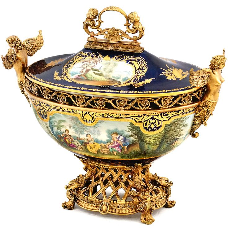 ormolu centerpiece | Royal Terrine Prunkgefäß